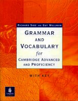 Grammar and vocabulary for cambridge advanced and proficiency part 1 pptx
