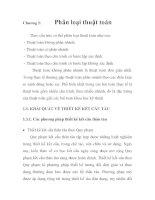 Phân tích và lựa chọn thuật toán thiết kế kết cấu tàu vỏ thép theo yêu cầu của Quy phạm Việt Nam, chương 2 potx