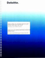 báo cáo tài chính hợp nhất đã kiểm toán năm 2012 của tổng công ty ptsc tổng công ty cổ phần dịch vụ kỹ thuật dầu khí việt nam