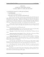 CHƯƠNG I - CƠ SỞ, QUÁ TRÌNH HÌNH THÀNH VÀ PHÁT TRIỂN TƯ TƯỞNG HỒ CHÍ MINH docx