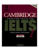 Cambiridge Practice Tests For IELTS1 ppt
