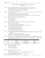 108 câu hỏi trắc nghiệm nôm tin lớp 10