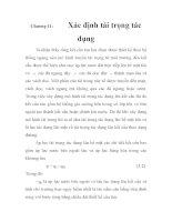 Ứng dụng chương trình RDM trong phân tích kết cấu thân tàu, chương 11 pdf