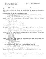 Đề thi tham khảo môn Tư tưởng Hồ Chí Minh - Phần 3 docx