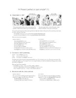 Oxford practice grammar with answers part 5 pptx