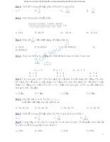 100 bài toán trắc nghiệm lớp 5
