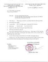 báo cáo tài chính công ty mẹ tổng công ty ptsc quý iii 2012 tổng công ty cổ phần dịch vụ kỹ thuật dầu khí việt nam