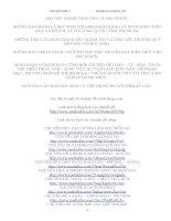 CHUYÊN ĐỀ 2:  BÀI TẬP HIĐROCACBON NO