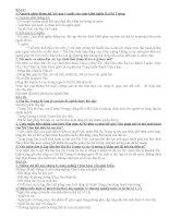 Tài liệu hướng dẫn và đề cương ôn tập Lịch sử 6 học kì 2