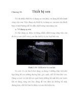 Tìm hiểu quá trình làm sạch bề mặt và sơn vỏ tàu, chương 10 pdf