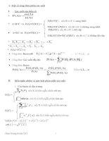 Công thức xác suất thông kê doc