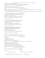 DE CUONG ON THI VAT LY 11CB- HK2 (09-10)