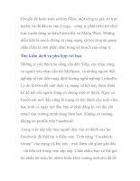 Cách Google có thể làm để xây dựng một mạng xã hội tốt hơn- P3 pdf