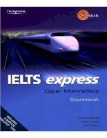 IELTS Express Upper Intermediate CourseBook Part1 ppt