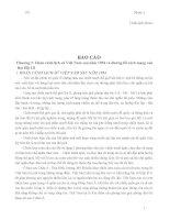 Báo cáo lịch sử đảng - Hoàn cảnh lịch sử Việt Nam sau năm 1954 và đường lối cách mạng của Đại Hội III docx