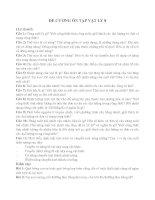 ĐỀ CƯƠNG ÔN TẬP VẬT LÍ 8 HỌC KÌ II
