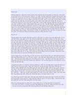 Phương pháp học tiếng Anh cuồng nhiệt (Crazy English) doc