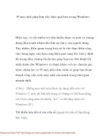 55 mẹo nhỏ giúp làm việc hiệu quả hơn trong Windows- P1 pdf