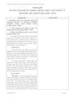 Chương III: ĐƯỜNG LỐI KHÁNG CHIẾN CHỐNG THỰC DÂN PHÁP VÀ ĐẾ QUỐC MỸ XÂM LƯỢC (1945 - 1975) docx
