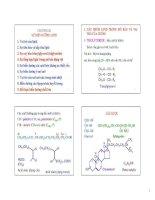 Chương II: Sự biến dưỡng Lipid pdf