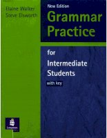 Grammar practice for intermediate students 1 ppt