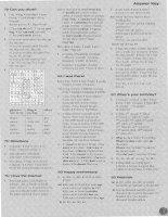 Cambridge - Face2Face Starter Workbook 8 pptx