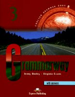 Grammarway with answer 1 pps