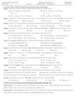 Kiểm tra học kỳ II Tin Hoc 11- Đề 2