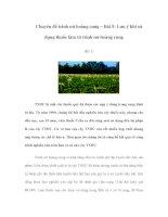 Chuyên đề trinh nữ hoàng cung – Bài 5: Lưu ý khi sử dụng thuốc làm từ trinh nữ hoàng cung (Kỳ 1) pdf