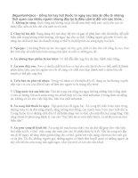 9 điều cấm kị trong cuộc sống hàng ngày pptx