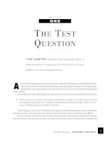 THE TEST QUESTION - Express yourself pptx