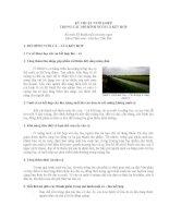Chương 5: KỸ THUẬT NUÔI GHÉP TRONG CÁC MÔ HÌNH NUÔI CÁ KẾT HỢP doc