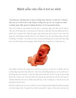 Bệnh uốn ván rốn ở trẻ sơ sinh pot