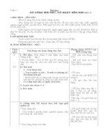 Giáo án tập đọc lớp 2 Học kỳ I ( Chi tiết)