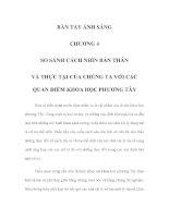 BÀN TAY ÁNH SÁNG - CHƯƠNG 4 pps
