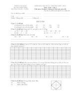 đề thi học kì 2 lớp 1 toán.doc