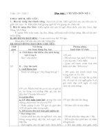 Giáo án tập đọc lớp 2 Học kỳ II ( Chi tiết)