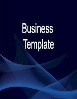 Mẫu PowerPoint: Business Template pptx