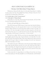 Giáo Trình Khởi Tạo Mạng Riêng Ảo - CÔNG NGHỆ MẠNG RIÊNG ẢO part 1 pdf