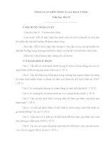 THẢO LUẬN MÔN PHÁP LUẬT ĐẠI CƯƠNG pdf
