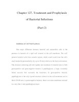 Chapter 127. Treatment and Prophylaxis of Bacterial Infections (Part 2) potx