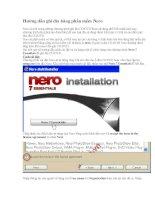 Hướng dẫn ghi đĩa bằng phần mềm Nero