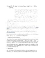 10 nguyên tắc giúp bạn chọn theme ưng ý cho website và blog.doc