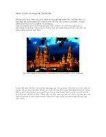 Những nhà thờ nổi tiếng ở Bắc Tây Ban Nha ppsx