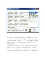 Những phần mềm nên dùng cho Windows 7- P2 pot