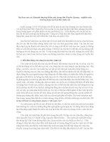 Sự đan xen các khuynh hướng thẩm mỹ trong thơ Huyền Quang
