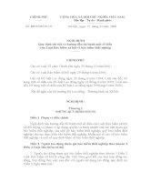 NĐ 127 Quy định chi tiết và hướng dẫn thi hành một số điều  của Luật Bảo hiểm xã hội về bảo hiểm thất nghiệp