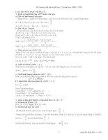 Đề cương bài tập sinh học 12