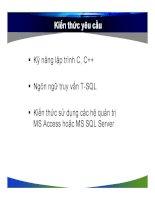 CHUYÊN ĐỀ CSDL VÀ LẬP TRÌNH ỨNG DỤNG WEB 1- P61 docx