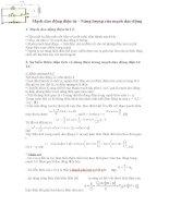 Mạch dao động điện từ - Năng lượng của mạch dao động pdf